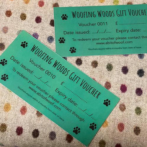 £16 Woofing Woods Gift Voucher