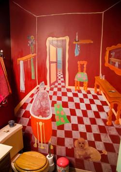 06-Red bathroom 1