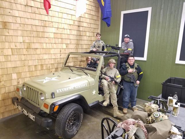 Extreme Jeep