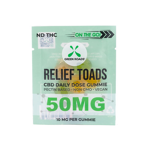 Relief Toads OTG - 50 mg