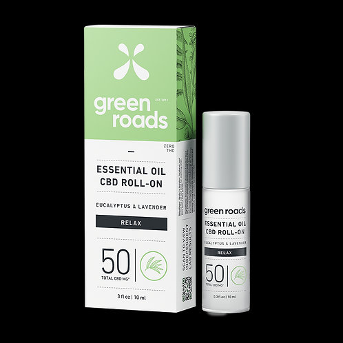 Essential Oil Roll-On - Relax - 50mg
