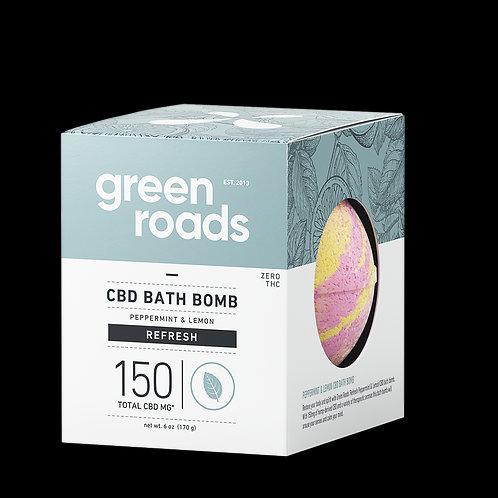 Large CBD Bath Bomb - Refresh - 150mg