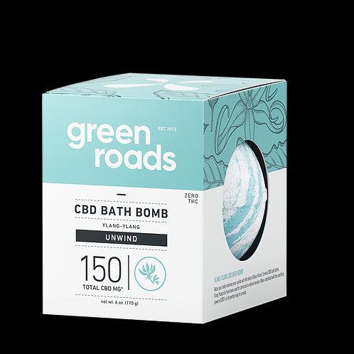 Large CBD Bath Bomb - Unwind - 150mg