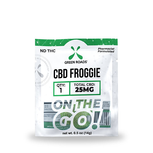CBD Froggies OTG - 25mg