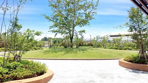 まごころガーデン豊橋 園内・中庭