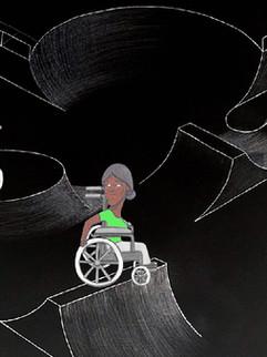 Wheelchair skatepark