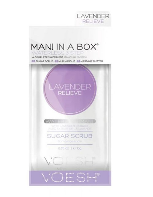Voesh Lavender Manicure in a box gift box