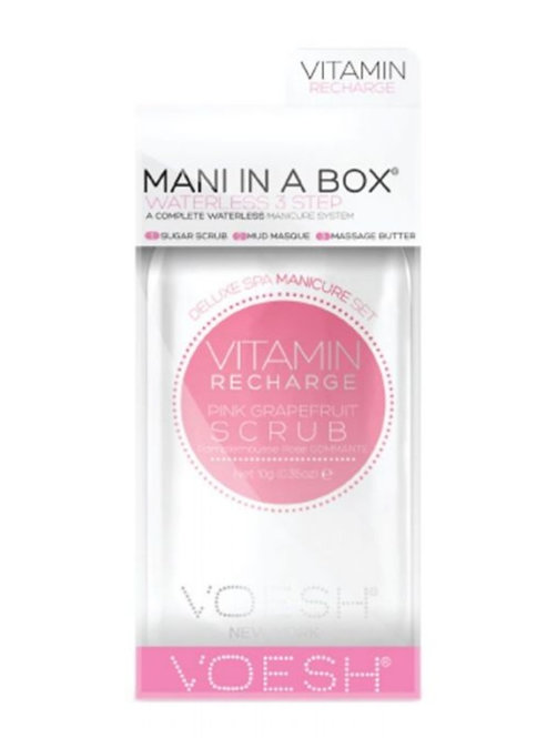 Voesh Vitamin Pink Grapefruit Manicure in a box gift box