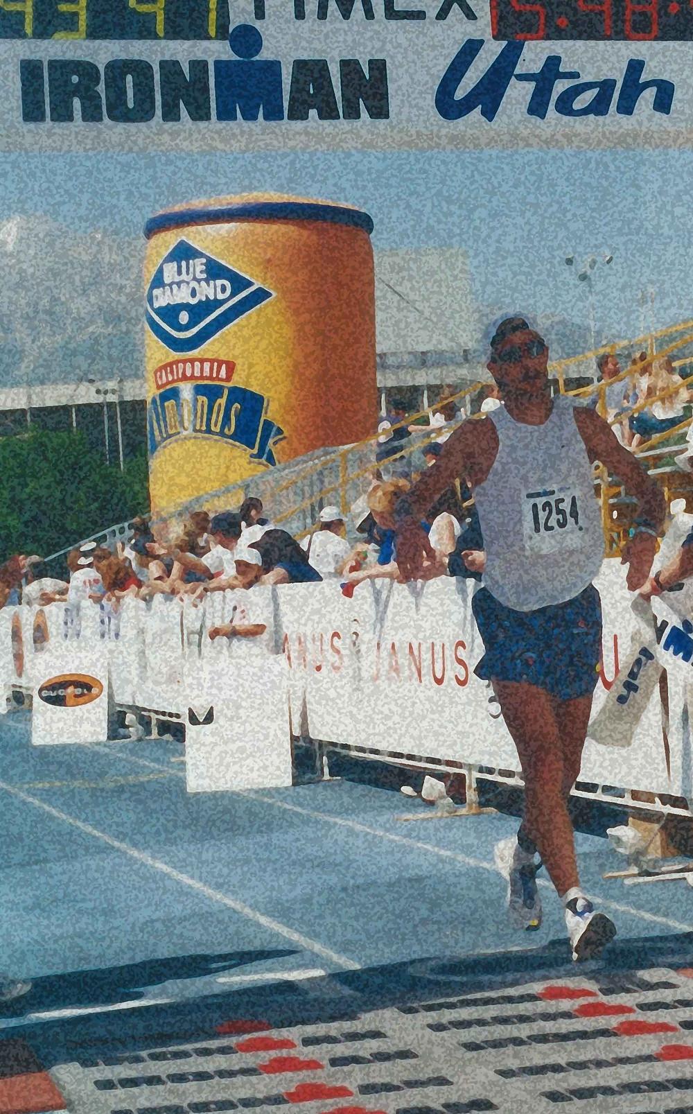 Ironman Utah triathlon Rug Leg