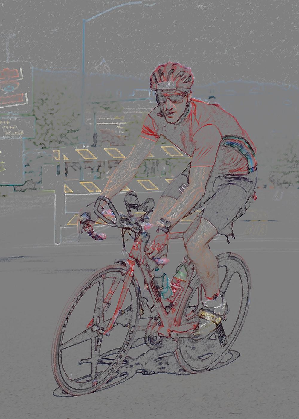 Bike Leg in IM Idaho