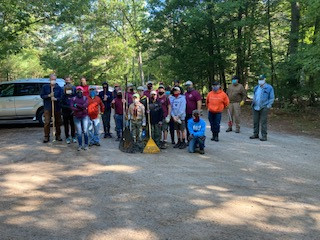 40 Volunteers Contribute to Phase II Trail Maintenence