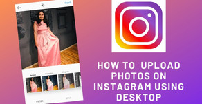 How to use Mobile View of Instagram on Desktop.
