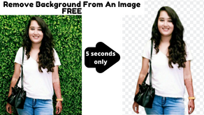 How To Remove Image Background Without Photoshop [within 20 seconds] [Free, Quick and Easy]