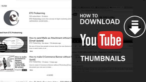 How to Download Thumbnail of a YouTube Video [Free & Easy]