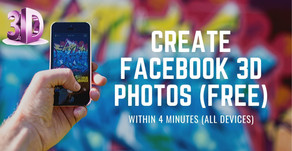 How to make 3D Photo for Facebook Online for Free.