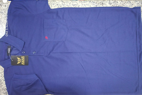 T-shirt(collar&pocket)