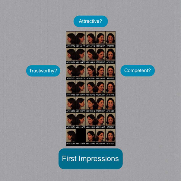 First Impression Recognition