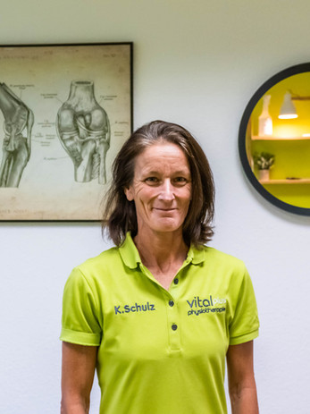 Physiotherapeutin Katrin Schulz