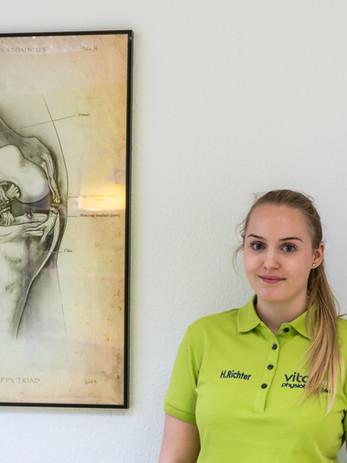 Physiotherapeutin Hanna Richter