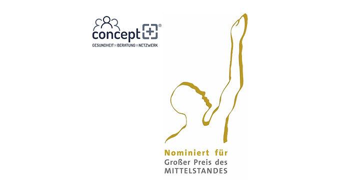 """Concept+ für den """"Großen Preis des Mittelstandes 2021"""" nominiert"""