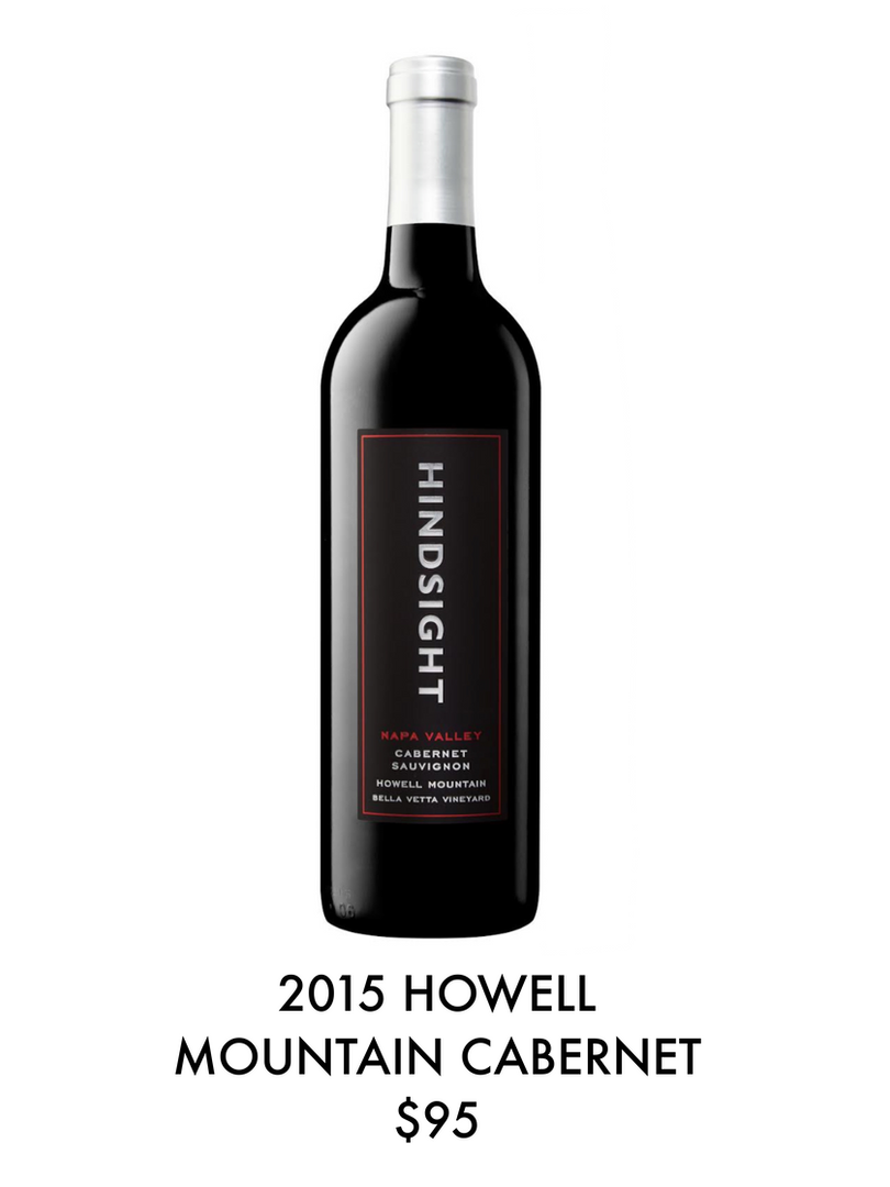 2015 Howell Mountain Cabernet, $95