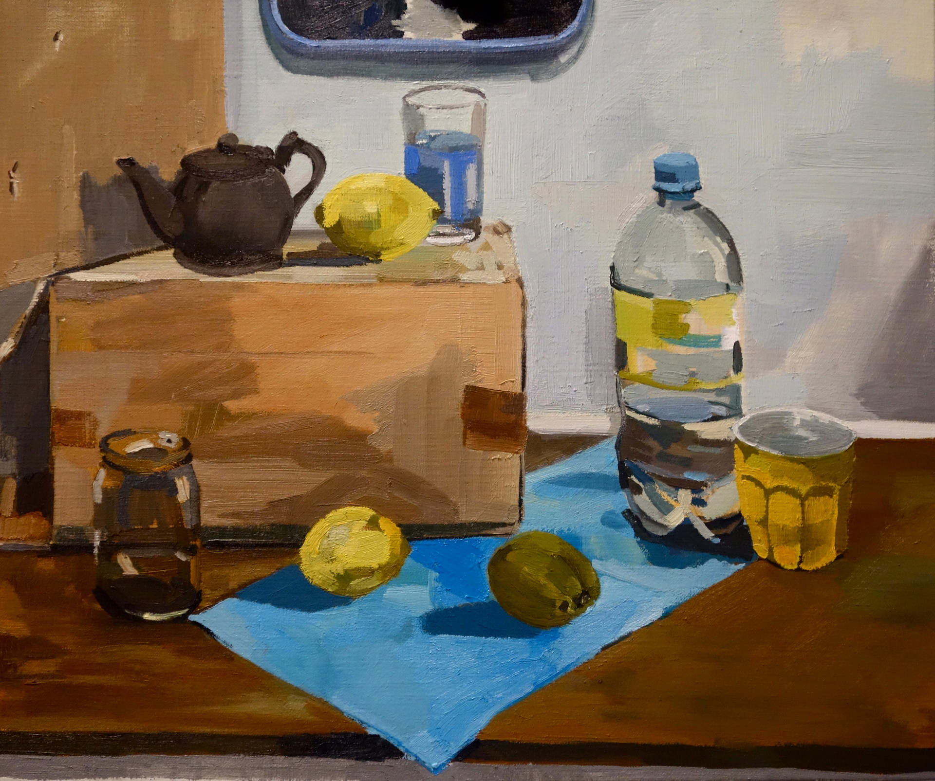 Still Life in Yellow and Blue