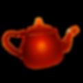 Logo entreprise Jade MIETTON théière rouge