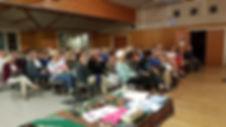Projection de Loin du désert de Jade MIETTON à l'assemblée générale de l'ONG LACIM niger sahara sahel jade mietton documentaire projection touareg tchad mauritanie algerie lacim ong