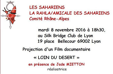 niger sahara sahel jade mietton documentaire projection touareg tchad mauritanie algerie