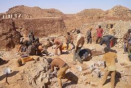 Site mine d'or tchibarakaten Niger 2016