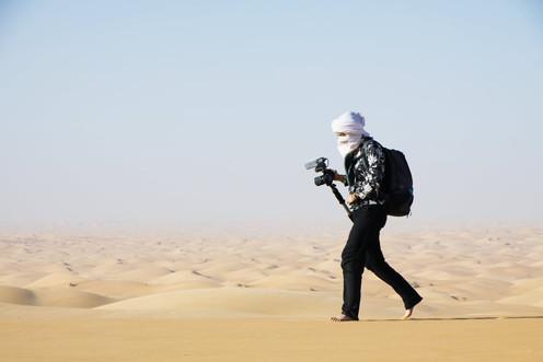 Jade au travail en Mauritanie