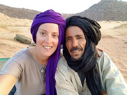 jade et Mohamed Salem chamelierdésert sahara sahel documentaire jade mietton mauritanie niger algerie