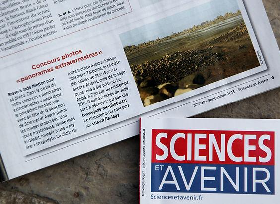 Sciences et avenir sahara sahel jade mietton documentaire interview radio télévision presse article