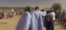 Arrivée dePierre Rabhi en Mauritanie 2018
