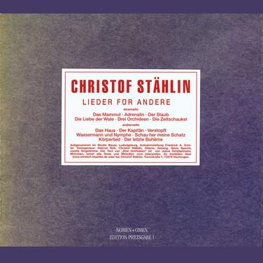 CD Lieder für Andere 1976, Neuauflage 2009; € 18 inkl. MwSt.
