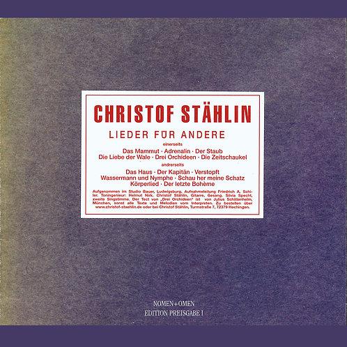 CD Lieder für andere, 1976, Neuauflage 2009