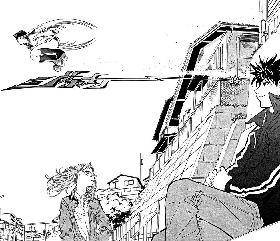 Air Gear: Roller Skating to Defeat God