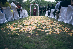 Wedding Ceremony on the Hilltop.