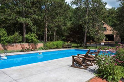 Pool, Patios and Party Barn