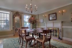 Dinning Room w Fireplace