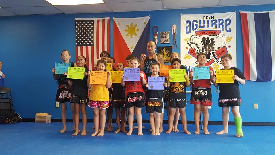 Kids Muay Thai Testing