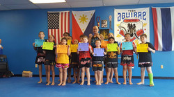 Kids Muay Thai Testing