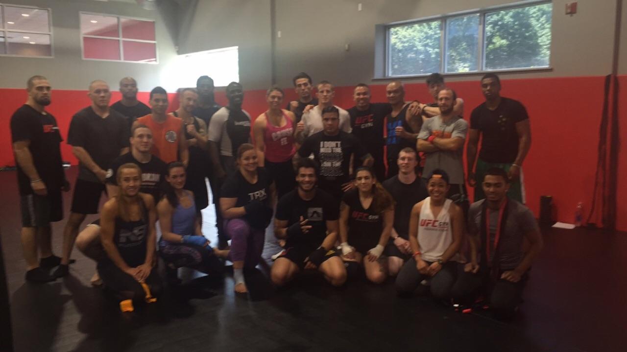 UFC Training Camp
