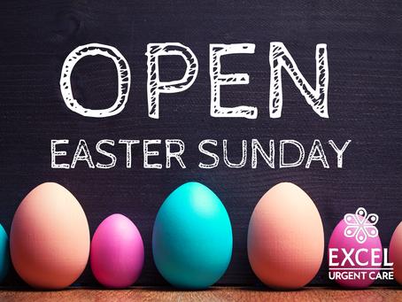 Open Easter Sunday