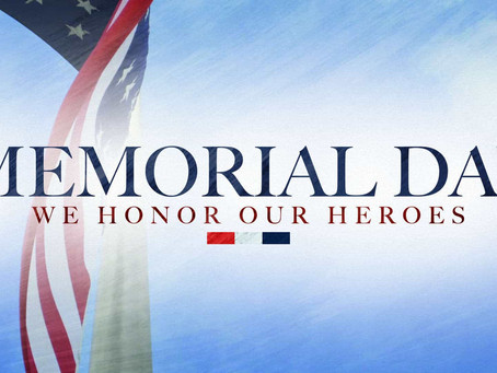 Today and every day we honor those who gave the ultimate sacrifice - Have a blessed Memorial Day