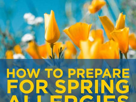 Spring Allergies?