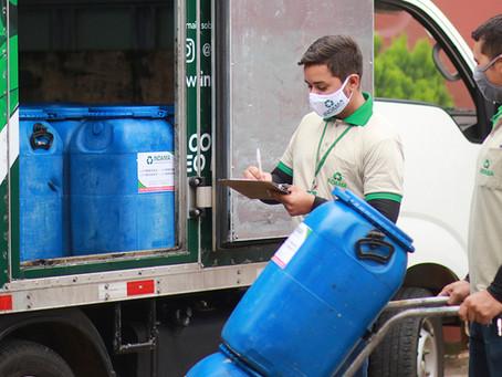 Os benefícios da reciclagem do óleo de cozinha