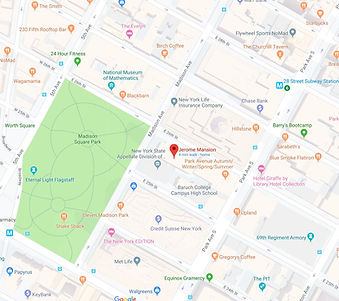 Map to MQS at 41 Madison Ave.