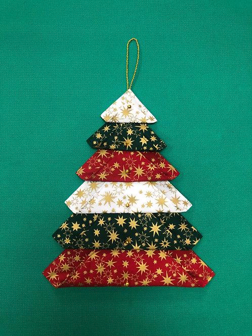 Árbol de Navidad - adorno - estrellas