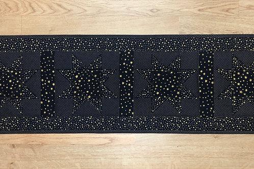 Mantel para mesa - azul con estrellas doradas